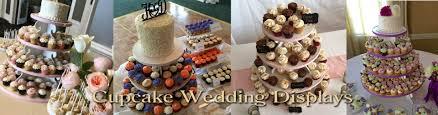 Cupcake Wedding Cake Weddings 3 Sweet Girls Cakery
