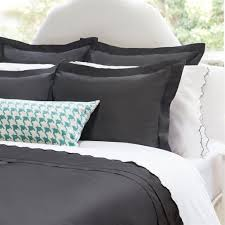 charcoal bedding solid grey duvet cover peninsula charcoal grey crane canopy