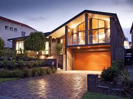 modern brick house brick modern house exterior bay windows decorative lighting dma