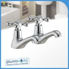 Mixer Bath Taps With Shower Traditional Classic Chrome Bathroom Taps Sink Basin Mixer Bath