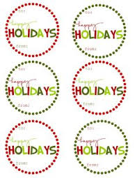 free printable labels with a holiday theme a large collection for