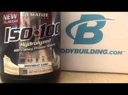 dymatize iso 100 birthday cake flavor hydro protein isolate review