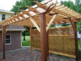 Paver Patio Kits Pergola Design Ideas Patio Pergola Kits Custom Cedar Pergola Kit