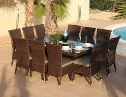 outdoor table that seats 12 outdoor dining set seats 12 outdoor designs