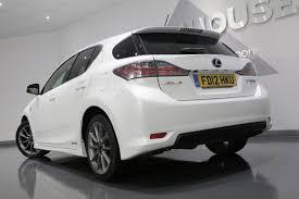 lexus hybrid ct200h used lexus ct 200h f sport huge spec amazing value 1 8