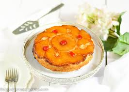 pineapple upside down cake eggless video sugar u0026 spice by radhika