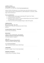 Ui Designer Resume Sample by Ux Designer And Front End Engineer Cv Resume