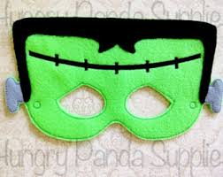 frankenstein mask frankenstein mask etsy