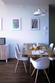 Telescoping Table Modern Rustic Style In A Small Space