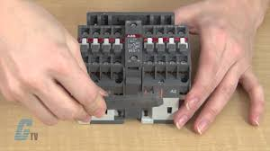 how to assemble a mechanically interlocked and reversing contactor