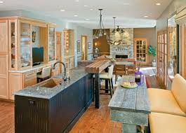 a gourmet kitchen for grownups