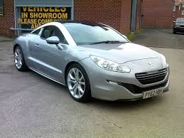 peugeot sport rcz used peugeot rcz coupe 1 6 thp sport 2dr in durham county durham