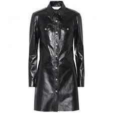 kleink che calvin klein 205w39nyc chemise en cuir chemisiers p00270893 cou59f38