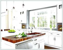 white kitchen island with butcher block top kitchen block island murphysbutchers com