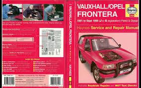 100 opel frontera 1992 diesel manual used opel cars