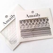 amaily japanese nail art sticker native patterns white u2013 daily