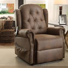 chair awesome recliner chairs design pictures brown leather seat