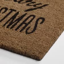 Hawaiian Doormats Beary Christmas Coir Doormat World Market