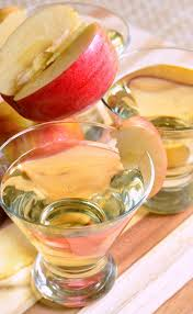 skinny cinnamon apple champagne martini will cook for smiles