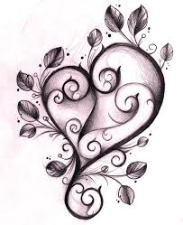 flower and heart tattoo designs free download clip art free