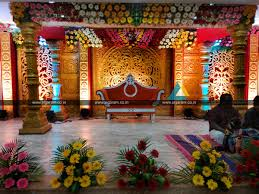 wedding planning and wedding stage decoration ponmani arangam