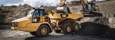 caterpillar articulated trucks buy dump truck fabick cat