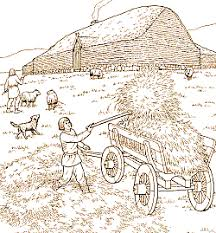 Hay In The Middle Of The Barn Song Hurstwic Farms And Villages In The Viking Age