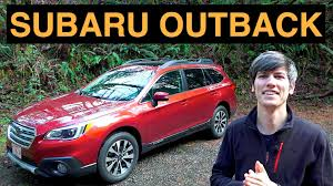 subaru outback 2018 red 2015 subaru outback review u0026 test drive youtube
