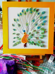 paper quilling birds tutorial 160 best quilling peacocks images on pinterest paper quilling