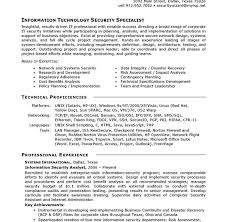 It Resumes Templates Example It Resume Examples Of Resumes With No Experience Student