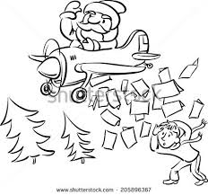 whiteboard drawing christmas cards bombing stock vector 205896367