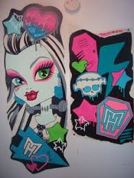 monster high comforter set for girls what a fun idea for that