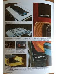 1983 vw accessory catalog chris chemidl in