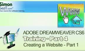 tutorial website dreamweaver cs5 dreamweaver cs6 tutorial creating a website part 1 see outlook
