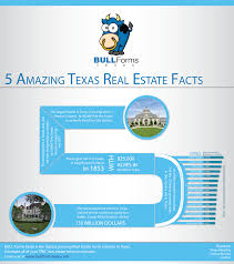 5 amazing texas real estate facts infographic bull forms texas