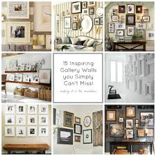 how to do a gallery wall 15 inspiring gallery walls that you simply cannot miss making it