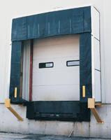 Loading Dock Air Curtain Vestil Loading Dock Equipment