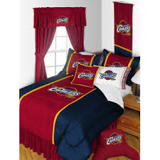 Nba Bed Set Nba Cleveland Cavaliers Bedding Set Basketball Comforter And Sheets