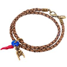 braid hand bracelet images Men 39 s cornicello mano hand evil eye double leather braid bracelet jpg