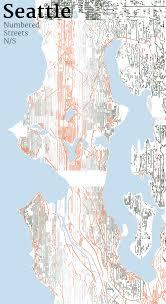 Seattle Street Map by Mapping Seattle Streets Jim Vallandingham