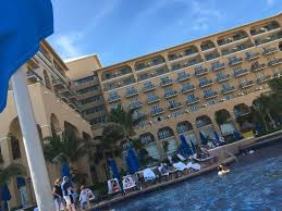 we stayed at the newly remodeled ritz carlton in cancun for