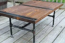 galvanized pipe table legs pipe leg coffee table galvanized pipe table medium size of pipe