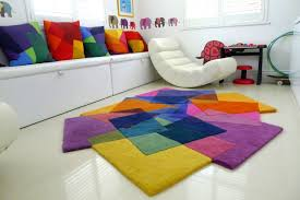 kids rugs bedroom multi color asymmetrical cool kids rugs with white lounge