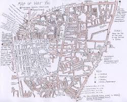 map of hat yai songkhla maps
