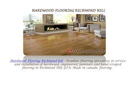 ppt hardwood flooring richmond hill powerpoint presentation id