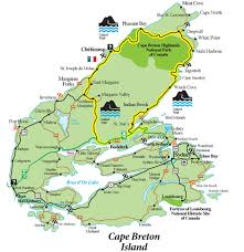 Newfoundland Canada Map cabot trail map cape breton cape breton pinterest cabot