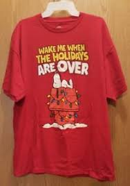 snoopy christmas t shirt peanuts snoopy christmas t shirt xl me when the
