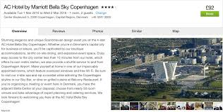 copenhagen 2 day trip only 63pp incl flights 4 marriott
