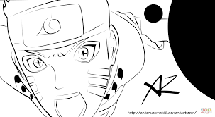 naruto bijuu mode coloring page free printable coloring pages