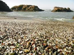 beach of glass sea glass beaches find sea glass